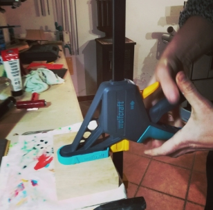 DIY printing press!