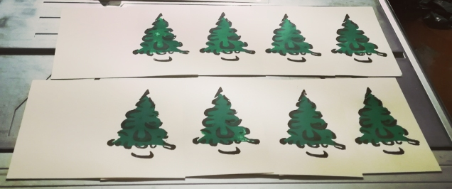 A forest is growing